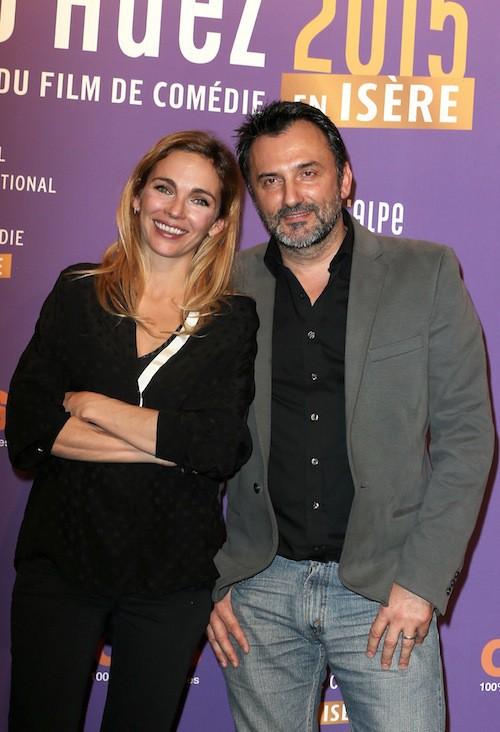 Festival de l'Alpe d'Huez 2015 : Claire Keim et Frédéric Lopez