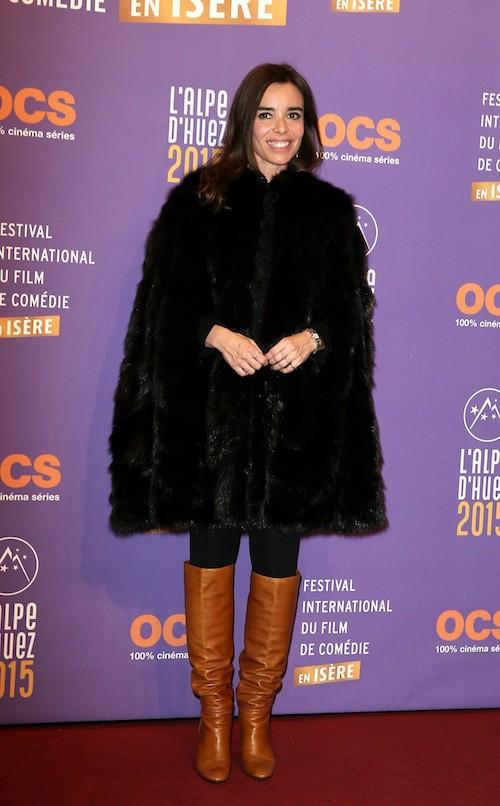 Festival de l'Alpe d'Huez 2015 : Elodie Bouchez