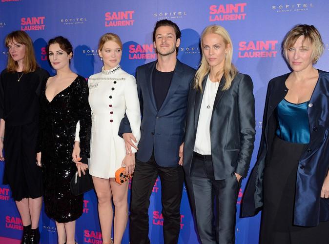 Jasmine Trinca, Amira Casar, Léa Seydoux, Gaspard Ulliel, Aymeline Valade et Valeria Bruni Tedeschi à Paris le 23 septembre 2014