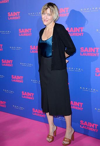 Valeria Bruni Tedeschi à Paris le 23 septembre 2014