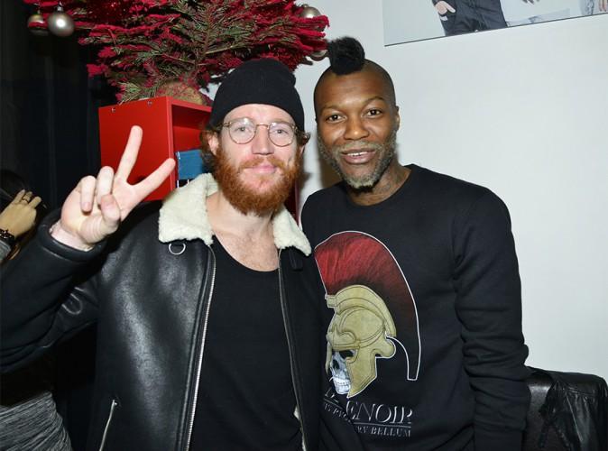 Geoffrey et Djibril Cissé