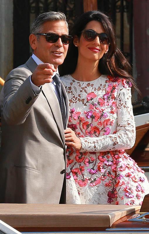 George Clooney et Amal Alamuddin : la nuit de noces s'est bien passée pour les jeunes mariés !