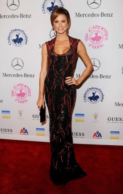 Stacy Keibler le 20 octobre 2012 à Los Angeles