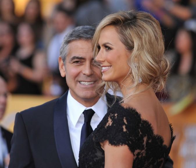 George Clooney est complètement gaga de sa petite amie !