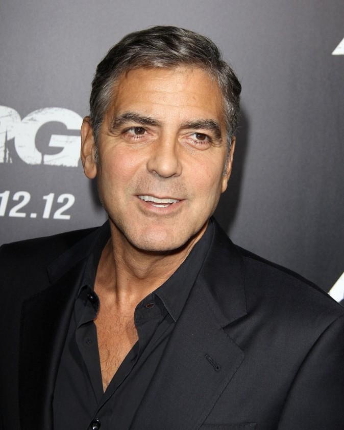 George Clooney lors de la première du film Argo à Beverly Hills, le 4 octobre 2012.