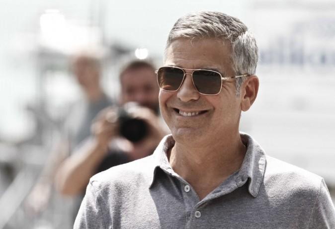 George Clooney le 30 juillet 2012 à Bergame