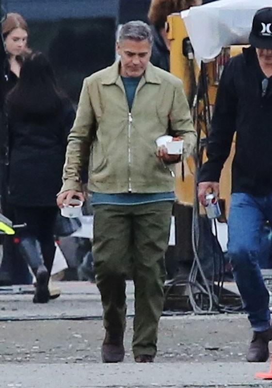 George Clooney : retour au travail difficile pour le jeune marié !