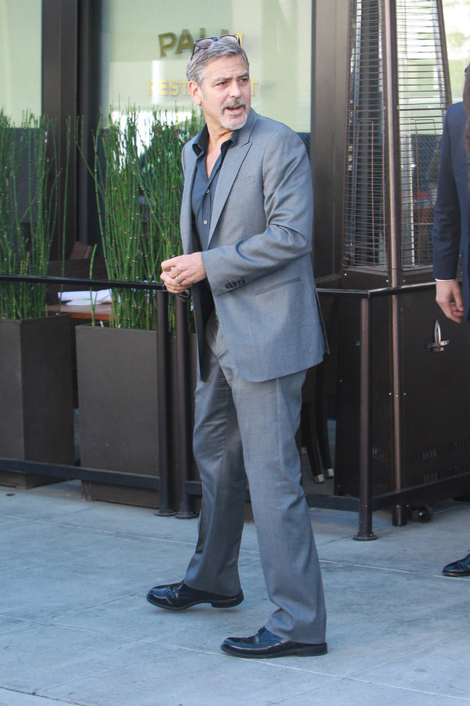 George Clooney le 22 octobre 2015