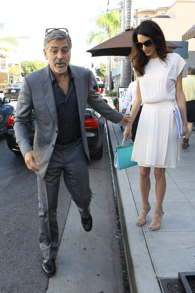 George et Amal Clooney le 22 octobre 2015