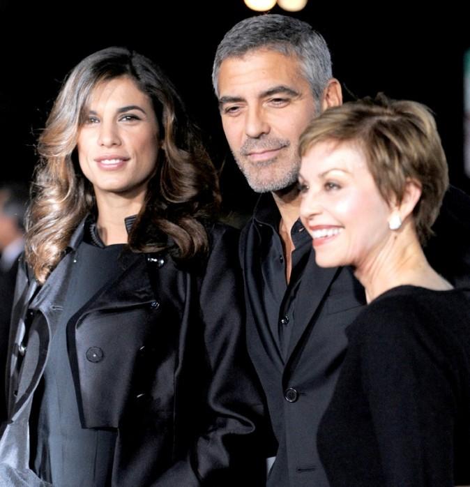 Avec Elisabetta Canalis, à qui il avait présenté ses parents...