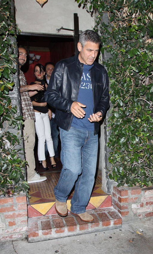 George Clooney se sortie avec ses potes !