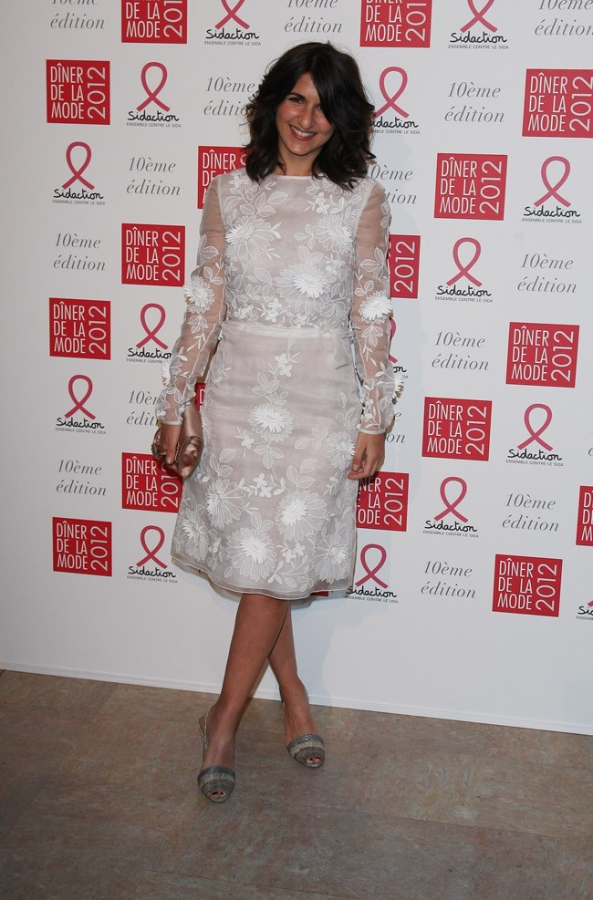 Géraldine Nakache, élégante en blanc !