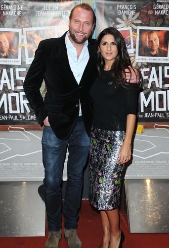 François Damiens et Géraldine Nakache à Paris le 10 décembre 2013