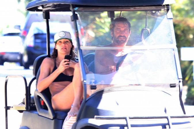 Gerard Butler à Malibu le 25 septembre 2014
