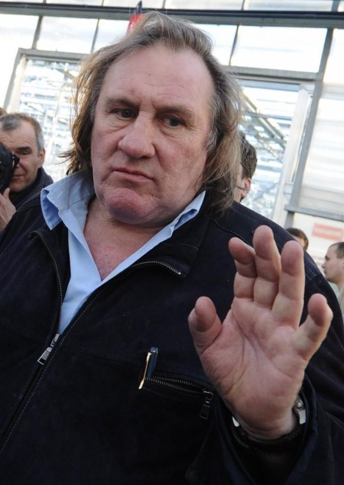 Gerard Depardieu,citoyen russe, a vu son appartement tchétchène ravagé par les flammes