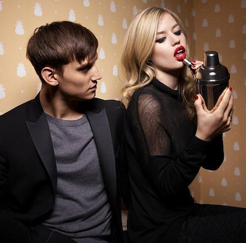 Photos : Georgia May Jagger : sexy et provocante, elle pose avec son boyfriend pour Sisley !