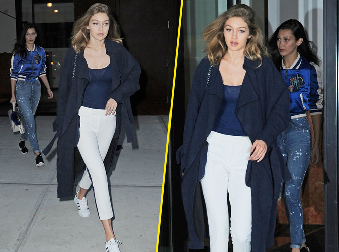Photos : Gigi et Bella Hadid : Dîner entre sœurs à New York !