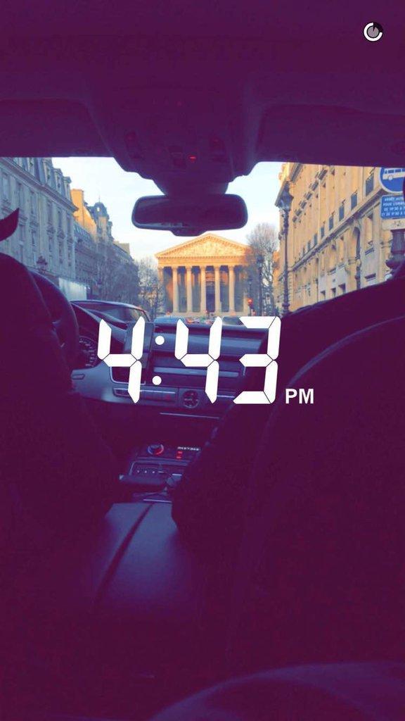 Gigi Hadid Snapchat