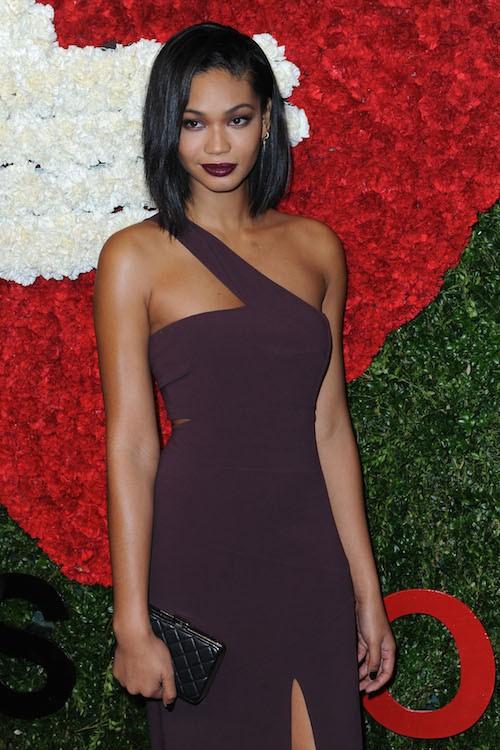 Chanel Iman le 16 octobre 2014 à New York