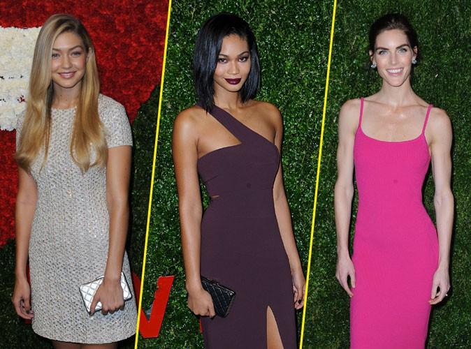 Photos : Gigi Hadid, Chanel Iman, Hilary Rhoda : guerre de tops en soirée VIP !
