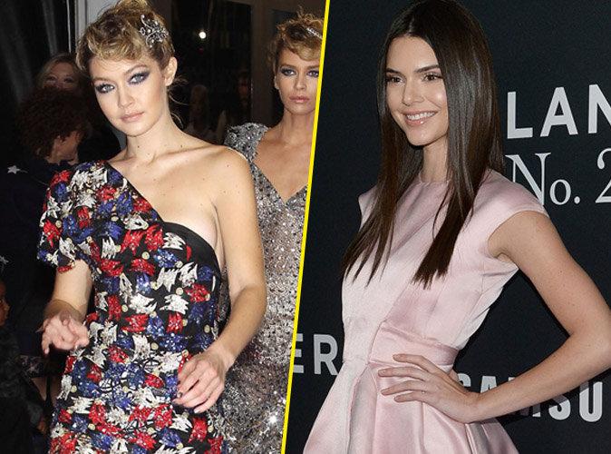 Photos : Gigi Hadid et Kendall Jenner s'offrent un nouveau duel de mannequins à NY !