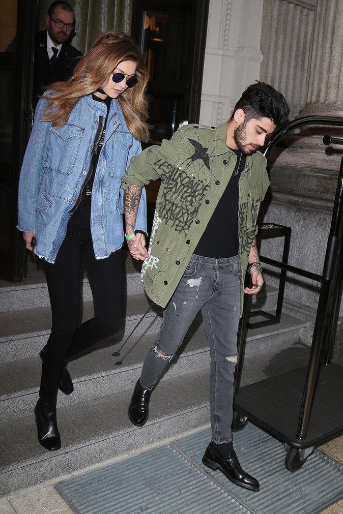 Gigi Hadid et Zayn Malik