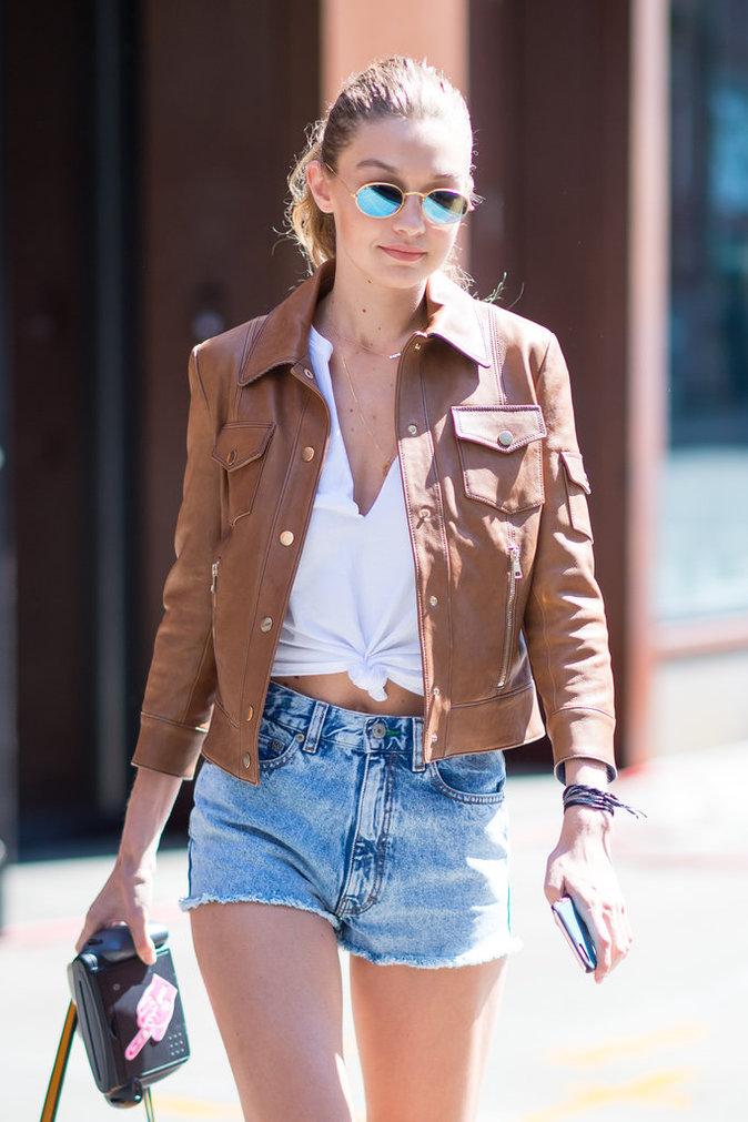 Gigi Hadid dans les rues de New York ce dimanche 4 septembre