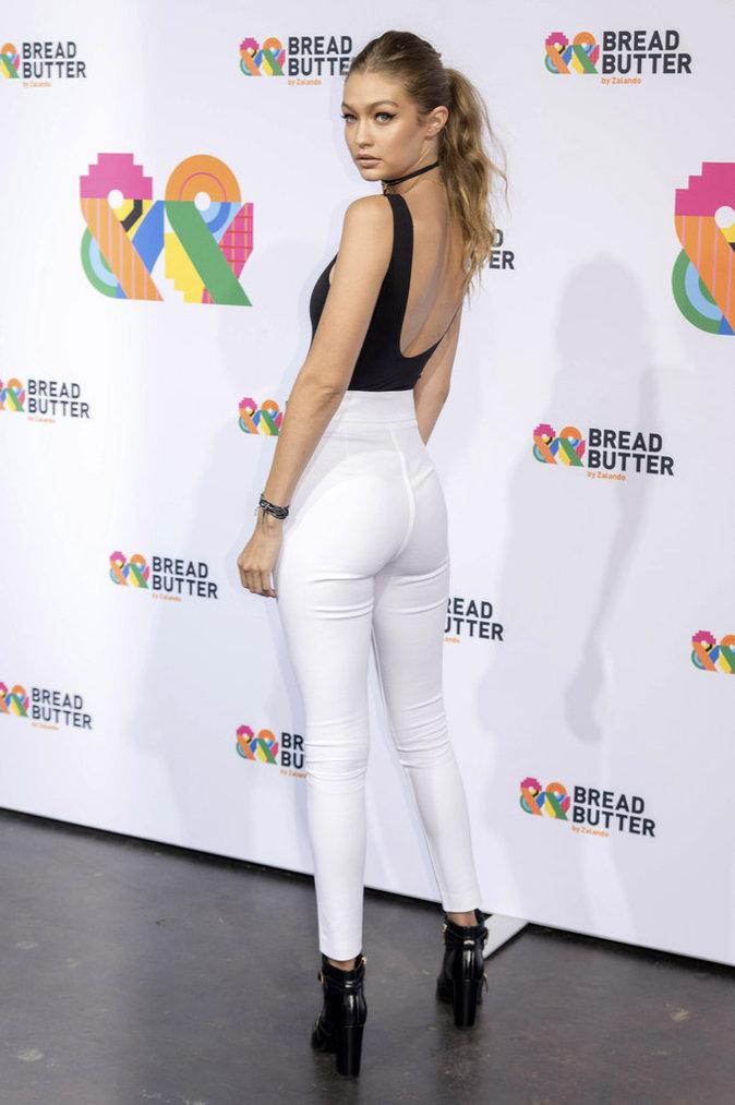 Gigi Hadid à Berlin le 2 septembre 2016