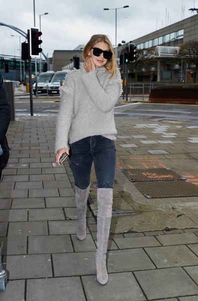 Photos : Gigi Hadid : son retour à Londres après avoir officialisé sa relation avec Zayn Malik