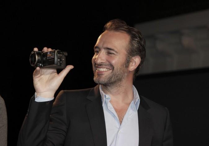 Jean Dujardin immortalise ce moment !