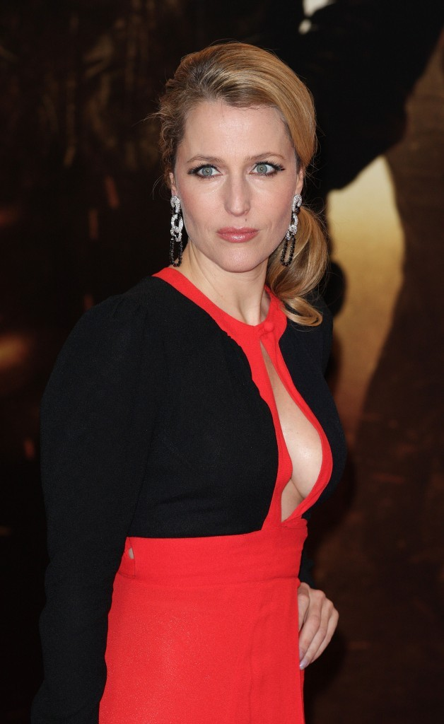 Gillian Anderson dans ses oeuvres !
