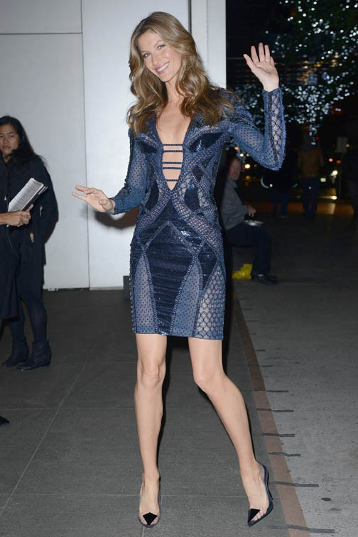 Gisele Bündchen à la soirée des 'Innovator Of The Year' Awards organisée à New-York le 6 novembre 2013