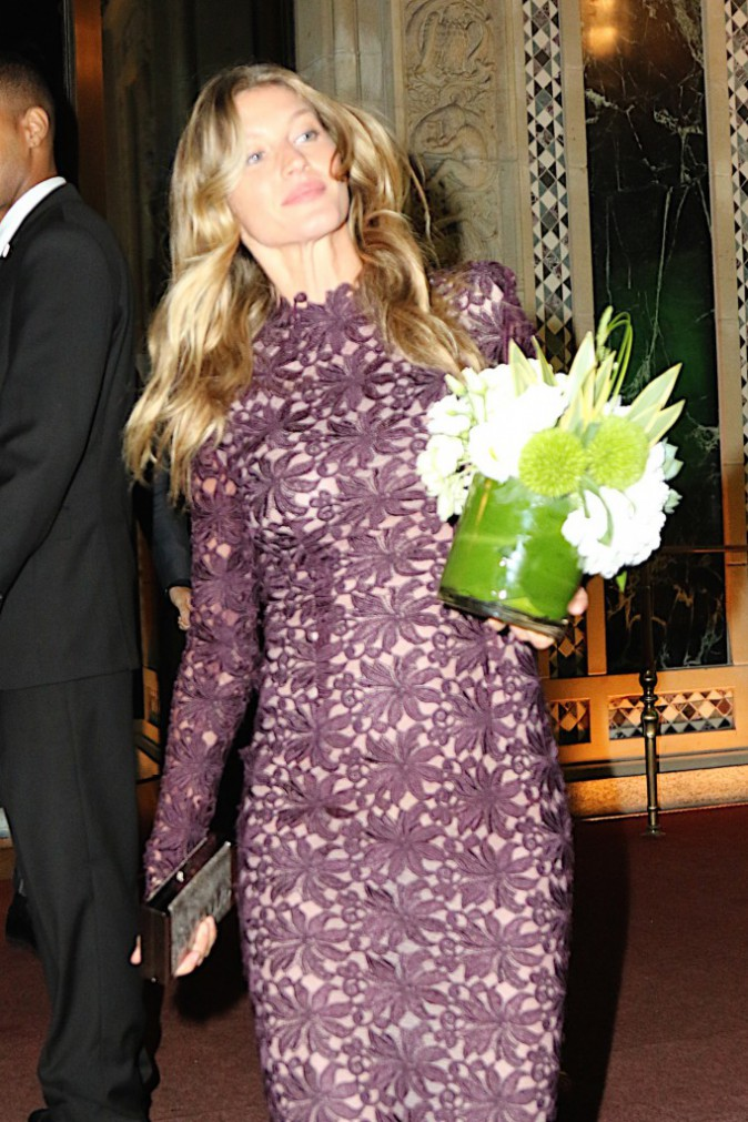 Gisele Bündchen le 27 septembre 2015