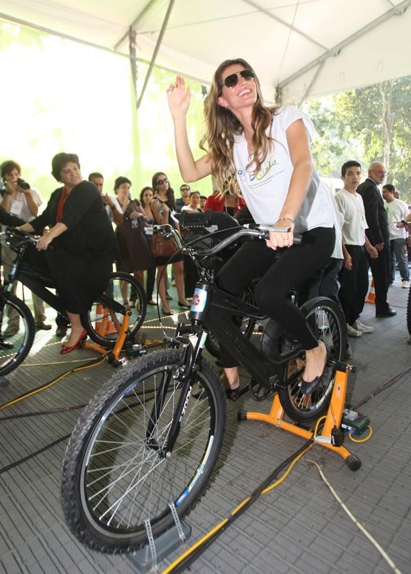 Gisele Bündchen au Green Nation Festival le 4 juin 2012