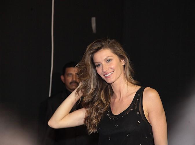 Gisele Bundchen à Sao Paulo le 31 octobre 2013