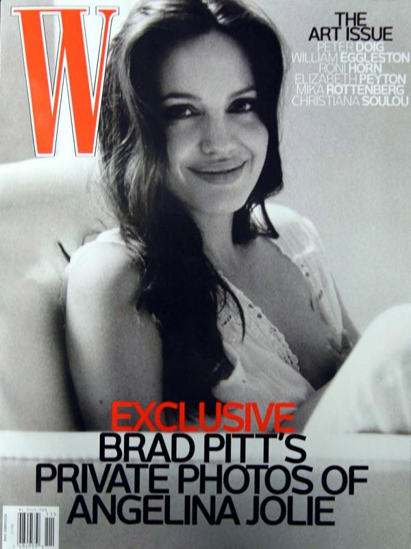 Angelina Jolie en Une du magazine W