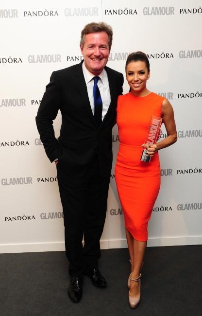 Eva Longoria lors des Glamour Awards 2012 à Londres, le 29 mai 2012.