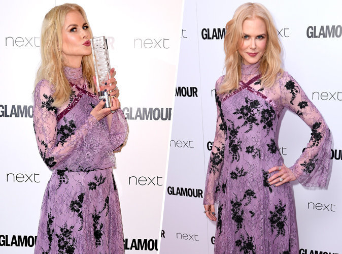 Glamour Women of the Year 2017 : Nicole Kidman, radieuse et récompensée !