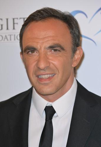 Nikos Aliagas à Paris le 12 mai 2014