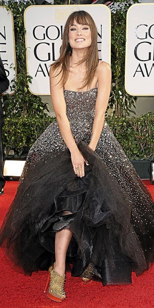Golden Globes 2011 : le look d'Olivia Wilde