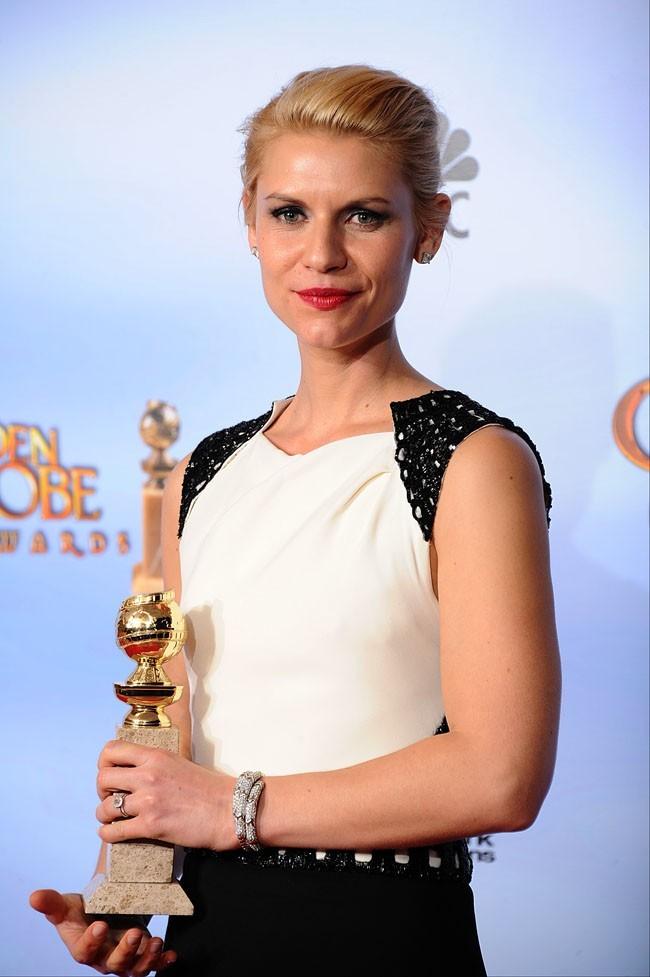 Claire Danes a remporté le troisième Golden Globe de sa carrière
