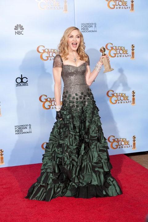 Madonna, Golden Globe de la meilleure chanson, Masterpiece
