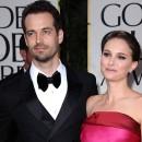 Photos : Golden Globes 2012 : Natalie Portman : son magnifique retour sur red carpet avec Benjamin Millepied !