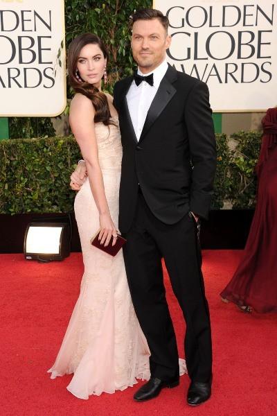 Megan Fox et Brian Austin Green lors de la 70e cérémonie des Golden Globes à Los Angeles, le 13 janvier 2013.