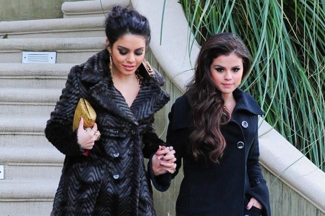 Vanessa Hudgens et Selena Gomez le 13 janvier 2013 à Los Angeles