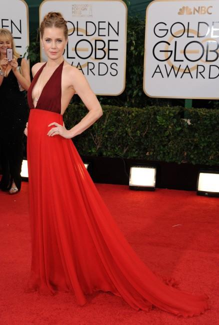 Amy Adams lors de la cérémonie des Golden Globes à Beverly Hills, le 12 janvier 2014.