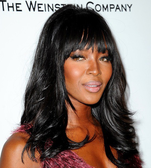 Naomi Campbell à l'after party des Golden Globes 2015, le 11 janvier 2015
