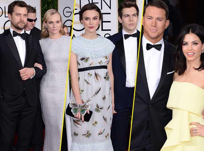 Golden Globes 2015 : du glamour et de l'amour sur le red carpet !