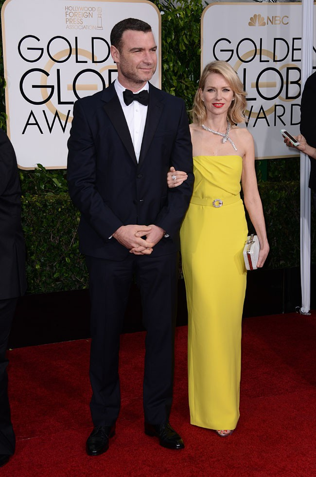 Naomi Watts et Liev Schreiber