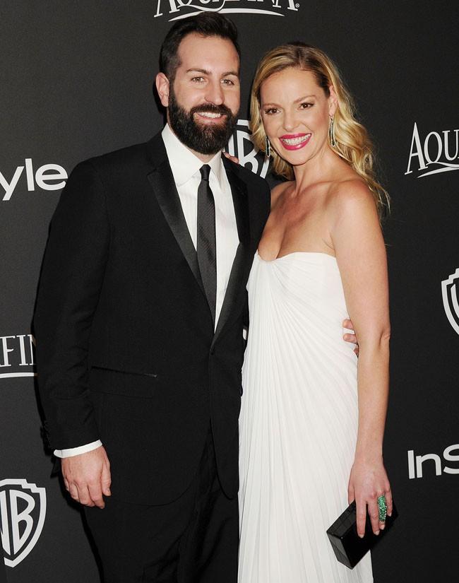 Katherine Heigl et Josh Kelley à l'after-party In style organisée à Beverly Hills le 11 janvier 2015